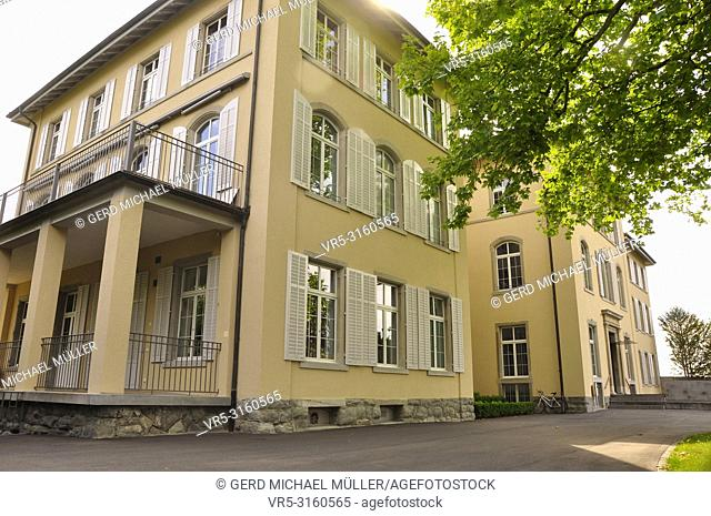 Switzerland: The foundation house of the Swiss Epilepsy clinic in Zürich City Seefeld