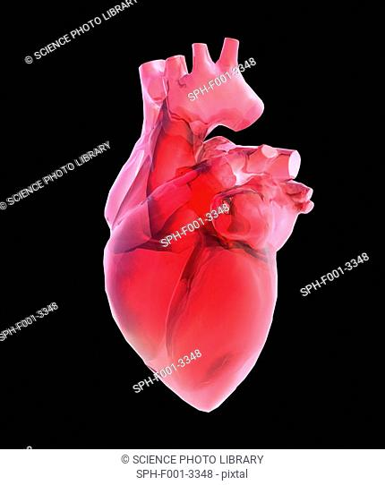Heart of glass, artwork