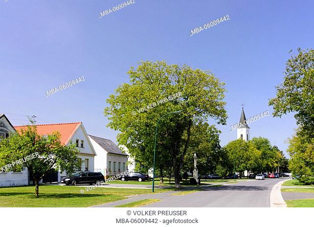Catholic parish church holy Rosalia, Austria, Burgenland, Moschendorf
