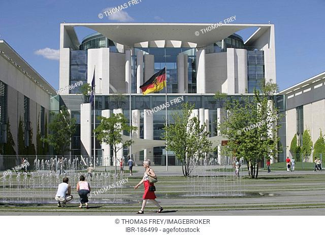 The chancellery in the german capital Berlin, Germany