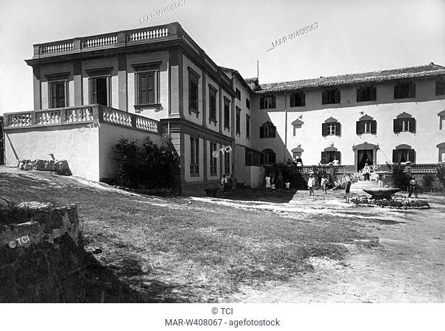 Italy, Basilicata, stigliano, particularly the health spa, 1930-40