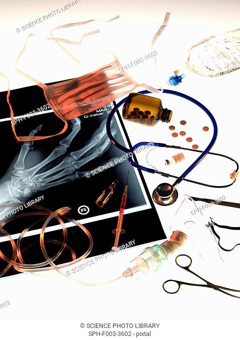 Medical treatment, conceptual image