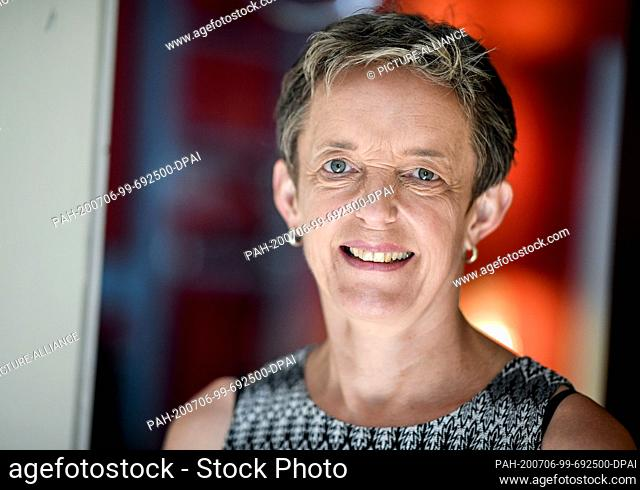 06 July 2020, Berlin: Johanna Weber, bizarre lady and political spokeswoman of the professional association for erotic and sexual services (BesD)