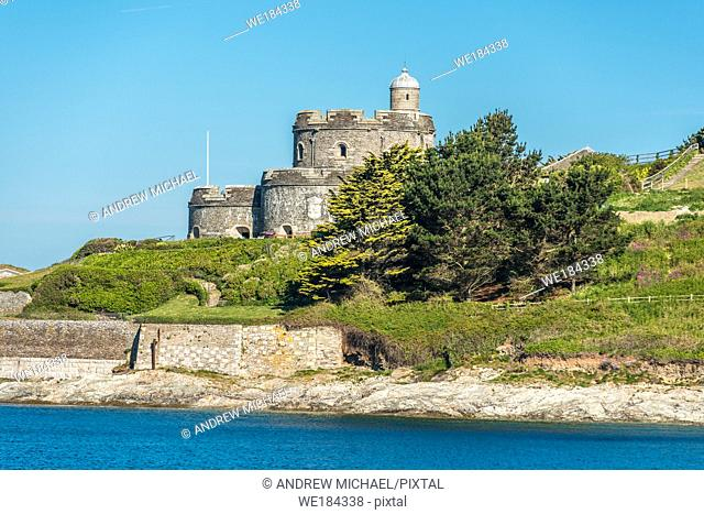 St Mawes Castle is an artillery fort constructed by Henry VIII at village of St Mawes on the Roseland Peninsula near Falmouth in Cornwall, England, UK