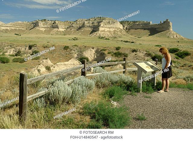 Scotts Bluff National Monument, NE, Nebraska