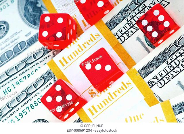 Red dice and dollars