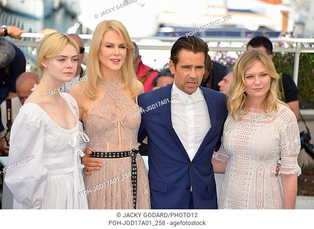 Photocall of the film: 'The Beguiled' Crew of the film: Colin Farrell, Elle Fanning, Nicole Kidman, Sofia Coppola, Kirsten Dunst Photocall of the film 'Rodin'...