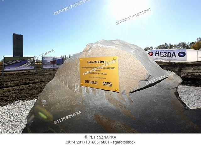 Ceremonial launch of construction of Magna Energy Storage plant, by the HE3DA company, for high energy accumulators was held in the industrial zone Frantisek in...
