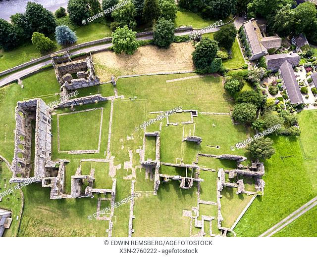 Easby Abbey in Yorkshire, England