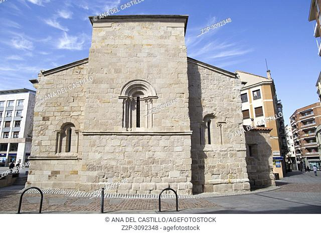 San Antolin church in Zamora Castile and Leon Spain