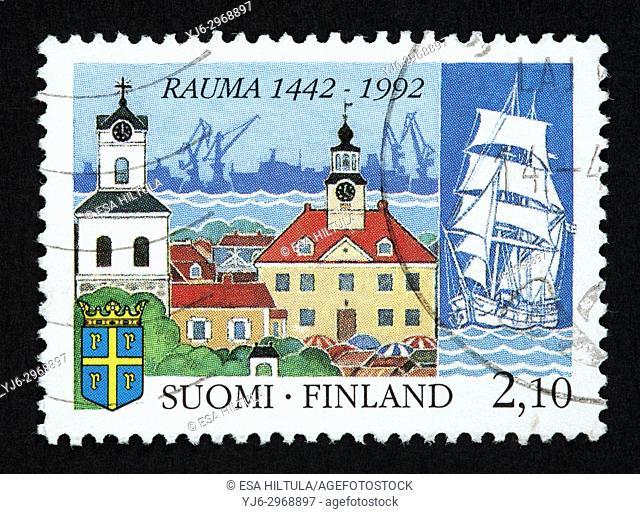 Finnish postage stamp