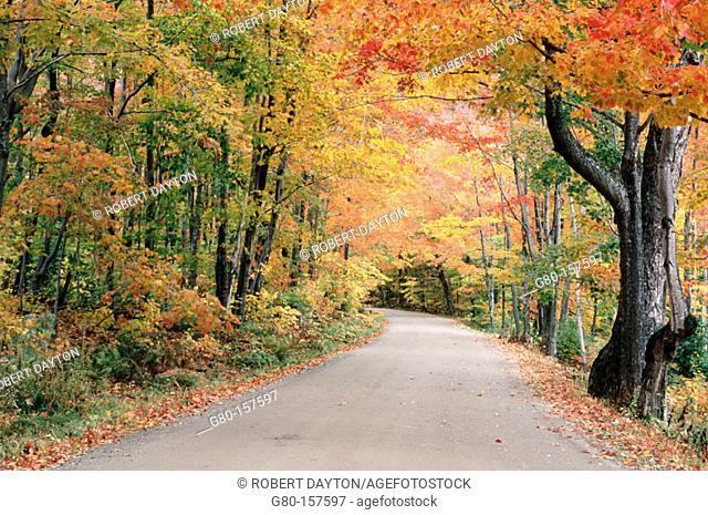 Hazen's Notch. Vermont. USA