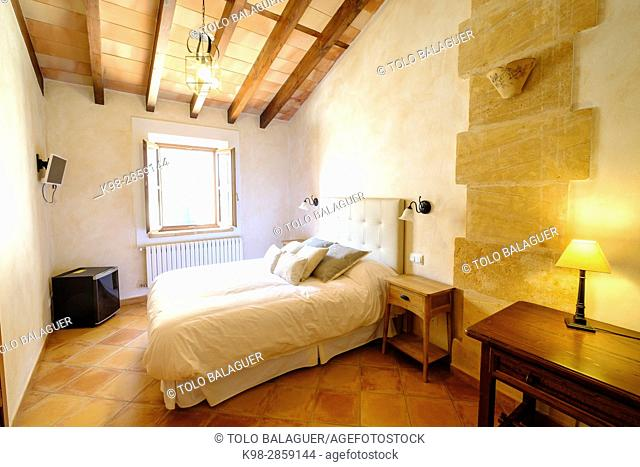 Restaurante y petit Hotel Daica, Llubí, Mallorca, balearic islands, spain