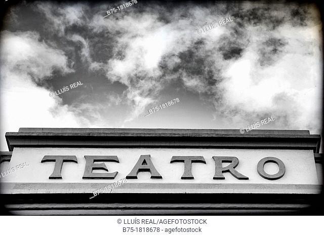 Teatro, centro cultural, Theatre, Cultural Center