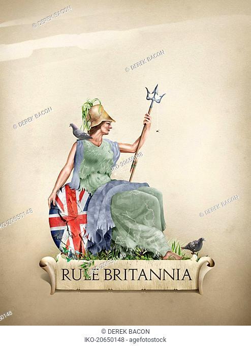 Rule Britannia ageing and in decline