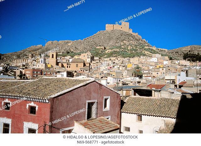 Mula. Vélez castle. XVIth century. Murcia province. Spain