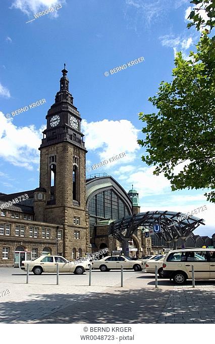 main station, Hamburg, Germany