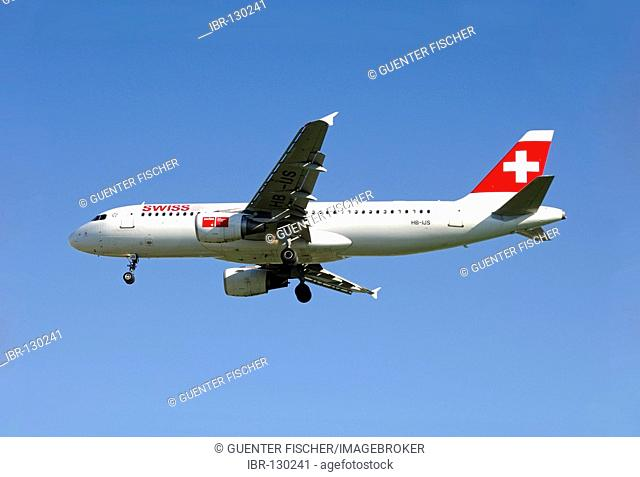 Airbus A320-214, Swiss International Air Lines, Switzerland