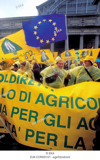 Farmer's protest in the EU