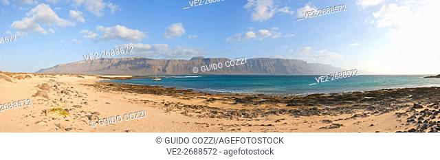 Spain, Canary Islands, La Graciosa, Playa Francesa