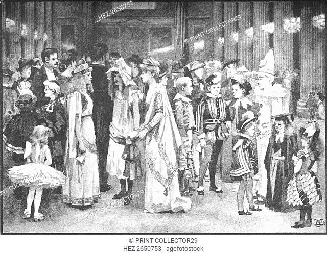 'Juvenile Ball at the Mansion House - Between the Dances', 1891. Artist: William Luker
