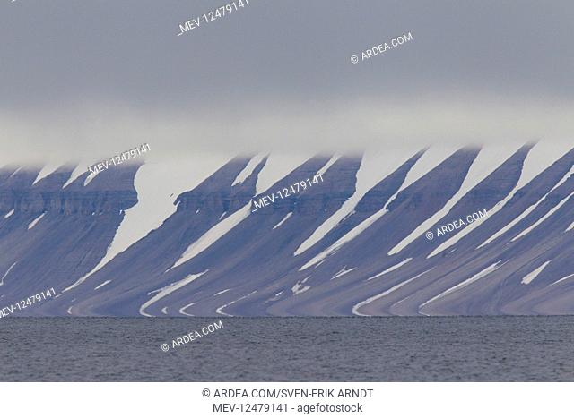 Ice formations along the Hinlopenstreet - Svalbard - Norway