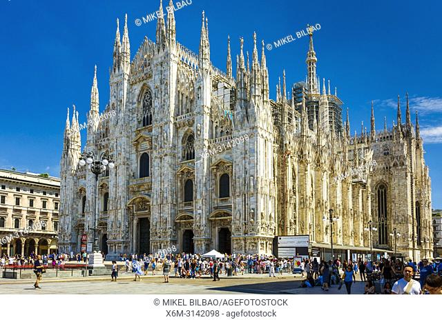 Milan Cathedral. Milan, Lombardy, Italy, Europe