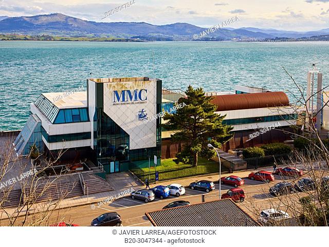 Museo Marítimo del Cantábrico, Santander Bay, Santander, Cantabria, Spain, Europe