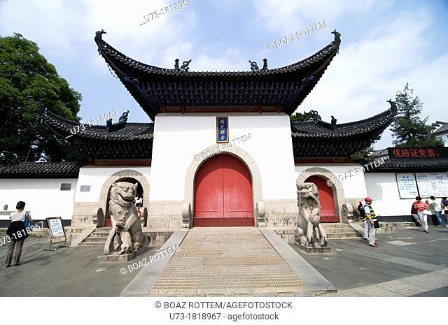 The beautiful Guiyuan temple in Hanyang, Wuhan