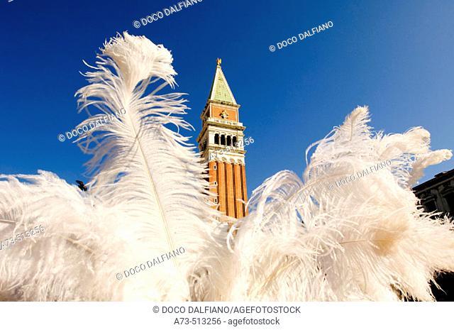 Carnival at San Marco square. Venice. Veneto. Italy