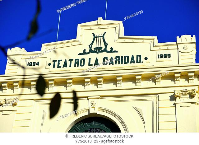 Teatro La Caridad or the Charity Theater in Santa Clara, Cuba