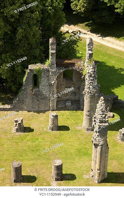 Ruïnes of the Parish Church, Montfaucon, France