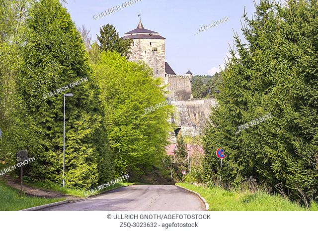 View of Kost Castle, Bohemian Paradise (Cesky Raj), Czech Republic