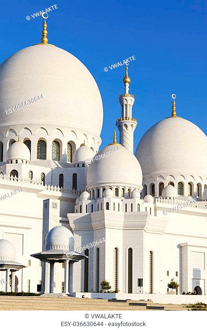 Part of Sheikh Zayed Grand Mosque, UAE