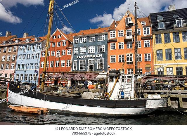 Nyhavn, Copenhagen. Denmark