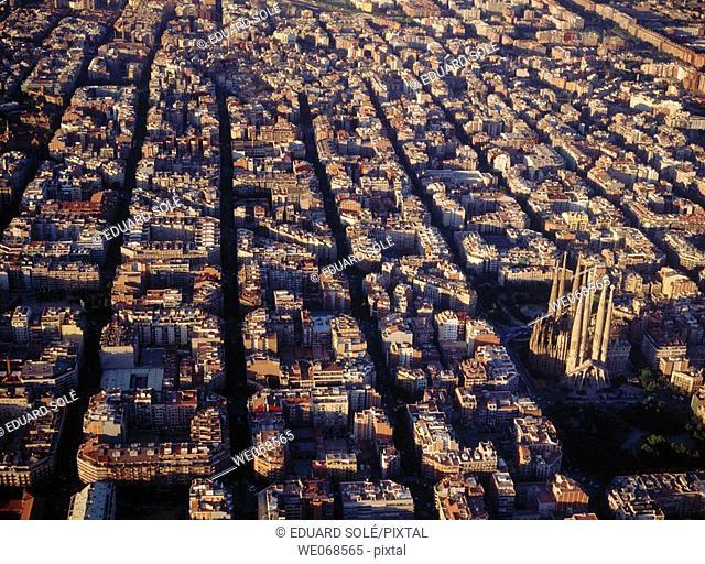 Eixample. Barcelona. Spain