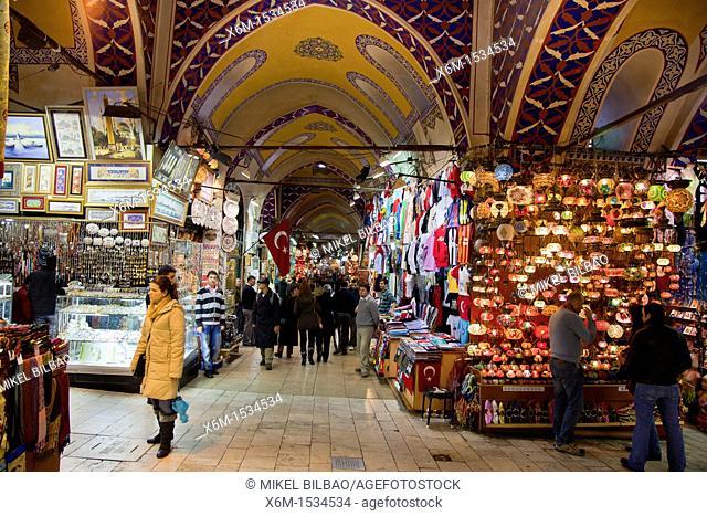 Lanterns shop  Grand Bazaar  Istanbul, Turkey