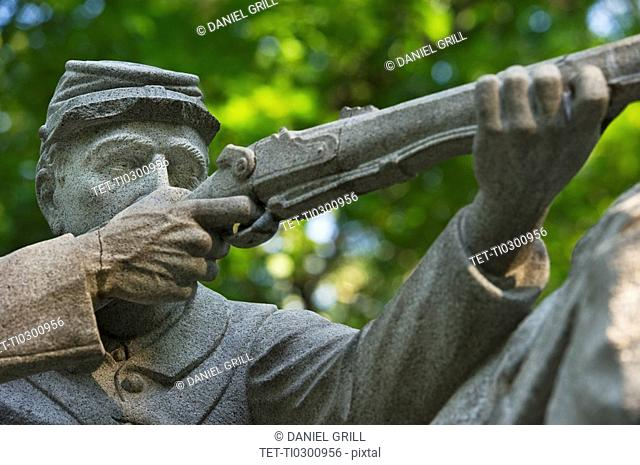 Monument at Gettysburg National Memorial Park