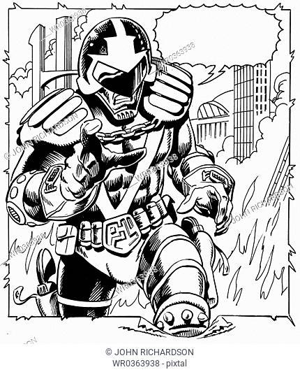 Comic Strip Action Figure