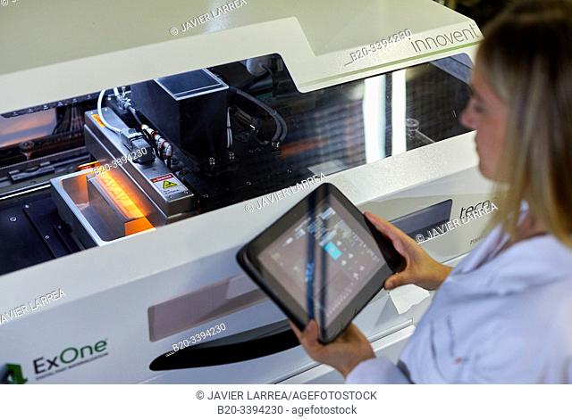 Binder Jetting, Additive manufacturing technology that allows high complexity parts to be manufactured, within a wide range of materials
