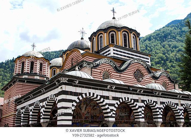 Church of Nativity of the Virgin Mother, Monastery of Saint John of Rila, Rila Mountains, Bulgaria