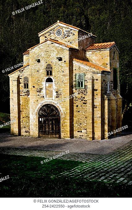 Word cultural heritage pre-romanesque, San Miguel de Lillo church, Oviedo, Asturias, Spain