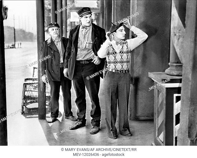 Ernest Torrence & Buster Keaton Characters: William 'steamboat Bill' Canfield Sr., William Canfield Jr. Film: Steamboat Bill, Jr