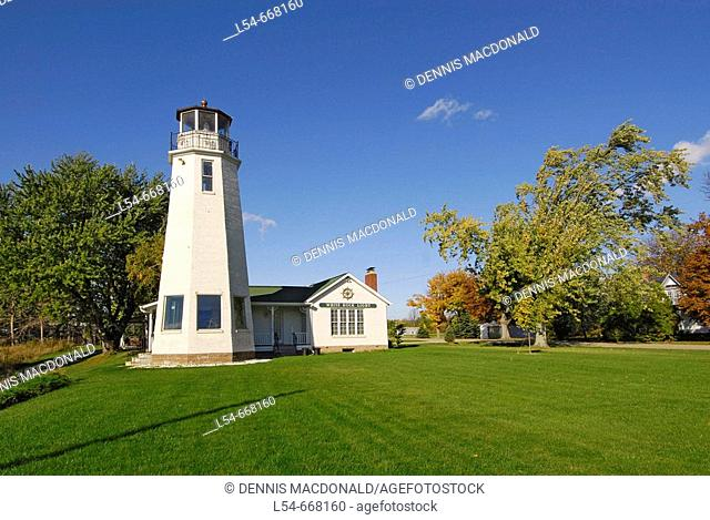 White Rock Lighthouse located at White Rock Michigan MI