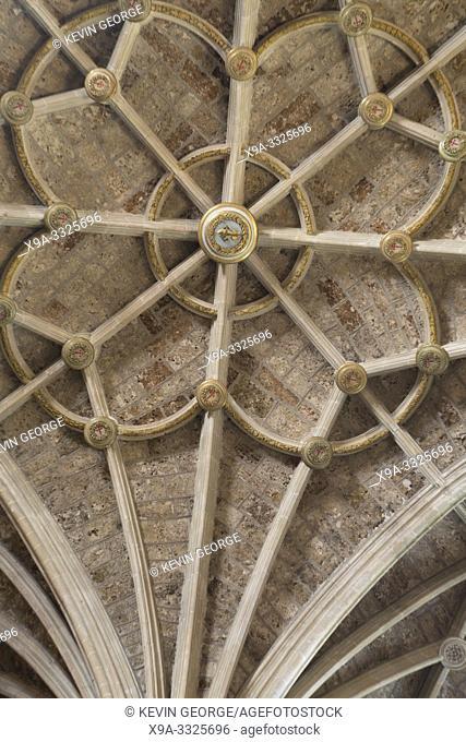 San Marcos Church Nave Ceiling, Leon, Spain