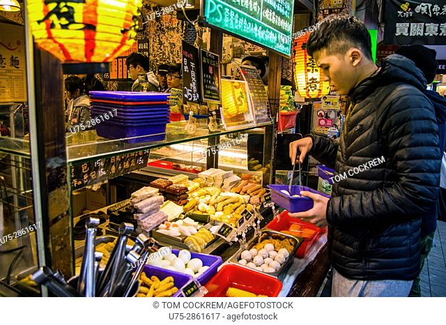 Pre-cooked food outlet, Zhongzheng, Taipei, Taiwan