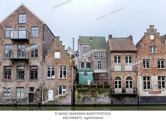 Canal in Ghent old town