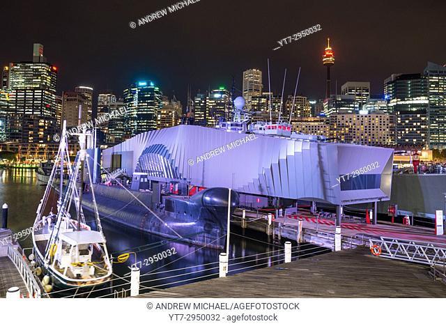 Australian National Maritime Museum in Darling Harbour, Sydney