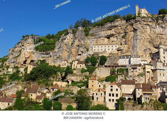 Rocamadour, Midi-Pyrenees region, Lot Department, France, Europe