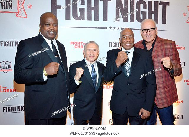 Fight Night - Fight for Children - Arrivals Featuring: Buster Douglas, Ray Mancini, Earnie Shavers, Gerry Cooney Where: Washington DC, District Of Columbia